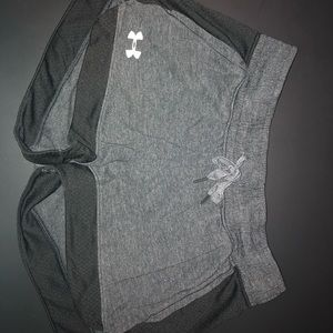 Gray under armor shorts